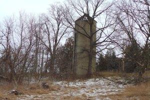 Old farm silo